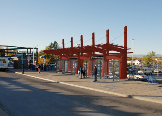 Rendering of BRT Station canopy.