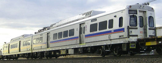 Commuter rail cars that will travel Northwest Rail in 2016.